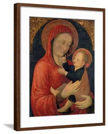 Madonna and Child-Jacopo Bellini-Framed Giclee Print