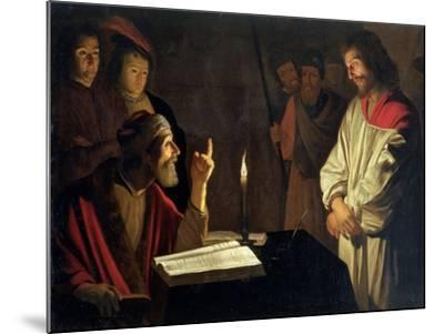 Christ Before Caiaphas-Gerrit van Honthorst-Mounted Giclee Print