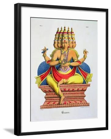 Brahma-A^ Geringer-Framed Giclee Print