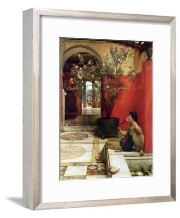 An Oleander, 1882-Sir Lawrence Alma-Tadema-Framed Giclee Print