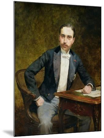 Charles Haas 1891-Theobald Chartran-Mounted Giclee Print