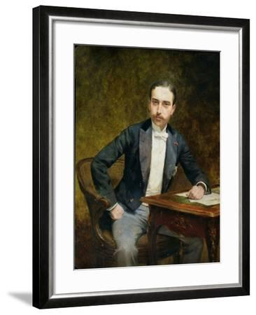 Charles Haas 1891-Theobald Chartran-Framed Giclee Print
