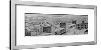 A Glimpse of the Great City of Carthage at the Height of Its Naval Power and Commercial Splendour--Framed Giclee Print