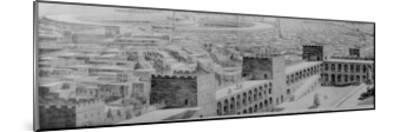 A Glimpse of the Great City of Carthage at the Height of Its Naval Power and Commercial Splendour--Mounted Giclee Print
