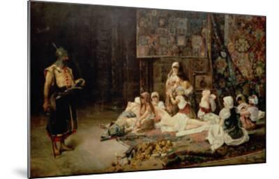 In the Harem, 1884-Jose Gallegos Arnosa-Mounted Giclee Print
