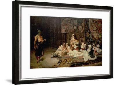 In the Harem, 1884-Jose Gallegos Arnosa-Framed Giclee Print