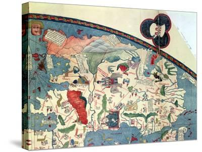 Map of Africa, after an Original of 1447--Stretched Canvas Print