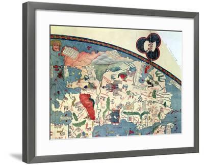 Map of Africa, after an Original of 1447--Framed Giclee Print