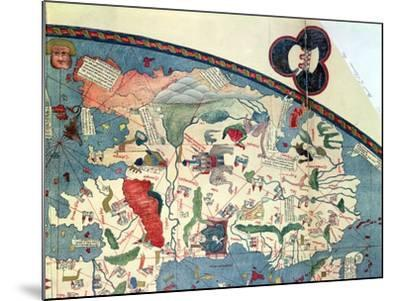 Map of Africa, after an Original of 1447--Mounted Giclee Print
