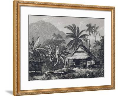View Near Matavai Bay, Otaheite-John Webber-Framed Giclee Print
