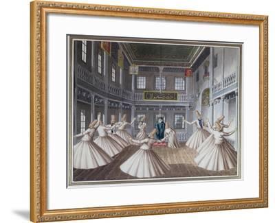 Whirling Dervishes--Framed Giclee Print
