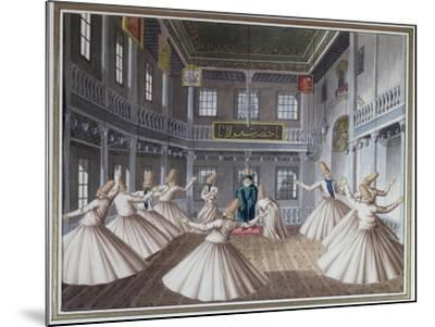 Whirling Dervishes--Mounted Giclee Print