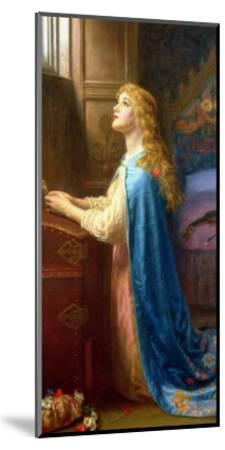 Forget Me Not-Arthur Hughes-Mounted Giclee Print