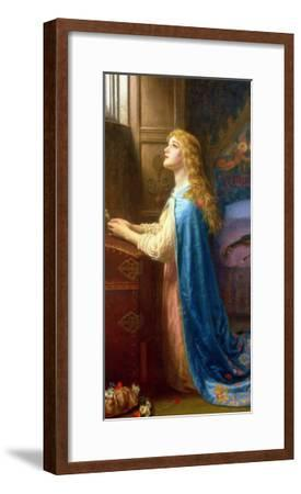 Forget Me Not-Arthur Hughes-Framed Giclee Print