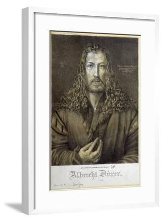 Self Portrait Aged 28, 1500-Albrecht D?rer-Framed Giclee Print