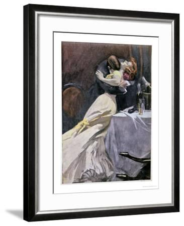 Destroy What You Like in Your Passion Except for My Dress-Ferdinand Van Reznicek-Framed Giclee Print