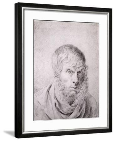 Self Portrait, circa 1810-Caspar David Friedrich-Framed Giclee Print