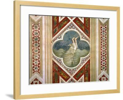 Jonah and the Whale, circa 1305-Giotto di Bondone-Framed Giclee Print