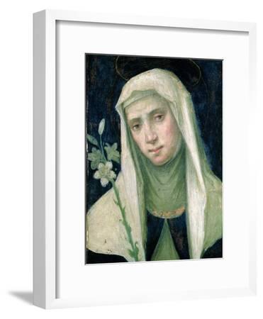 St. Catherine of Siena-Fra Bartolommeo-Framed Giclee Print