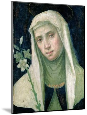 St. Catherine of Siena-Fra Bartolommeo-Mounted Giclee Print