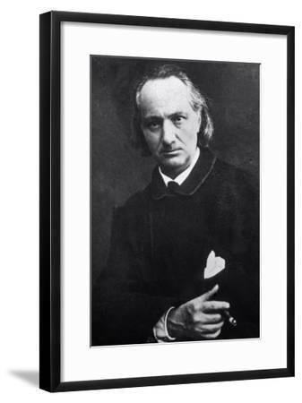 Charles Baudelaire with a Cigar, 1864-Charles Neyt-Framed Giclee Print