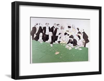 Roulette at Monte-Carlo, circa 1910-Sem-Framed Giclee Print