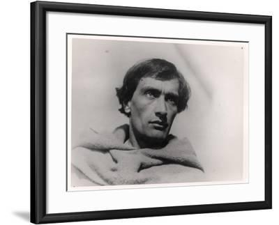 """Antonin Artaud in the Film, """"The Passion of Joan of Arc"""" by Carl Theodor Dreyer 1928--Framed Giclee Print"""