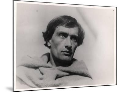"""Antonin Artaud in the Film, """"The Passion of Joan of Arc"""" by Carl Theodor Dreyer 1928--Mounted Giclee Print"""