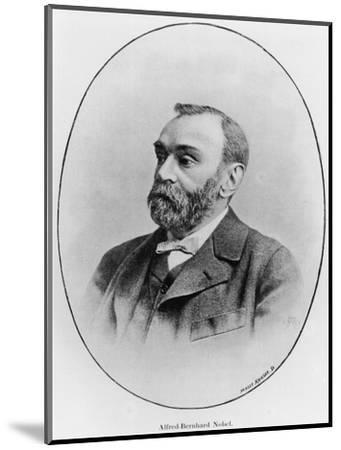 "Alfred Nobel Illustration from ""La Revue Illustree,"" 1902--Mounted Premium Giclee Print"