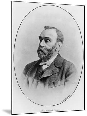 "Alfred Nobel Illustration from ""La Revue Illustree,"" 1902--Mounted Giclee Print"