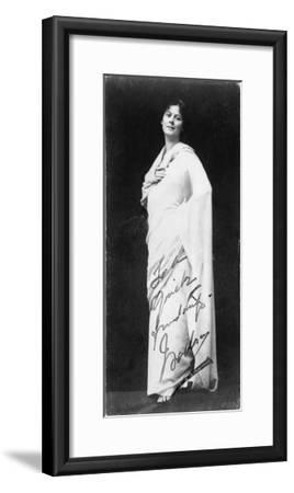 Isadora Duncan--Framed Giclee Print