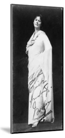 Isadora Duncan--Mounted Giclee Print