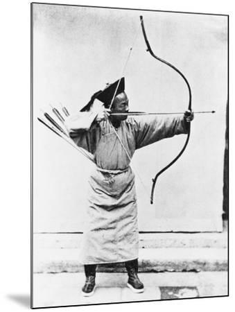 Chinese Archer, circa 1870-John Thomson-Mounted Giclee Print