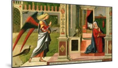 The Annunciation (Detail)-Vittore Carpaccio-Mounted Giclee Print