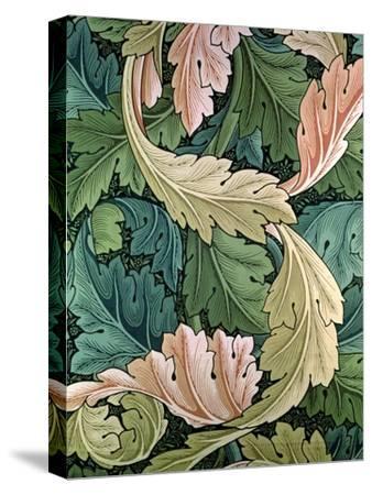 """Acanthus"" Wallpaper Design, 1875-William Morris-Stretched Canvas Print"