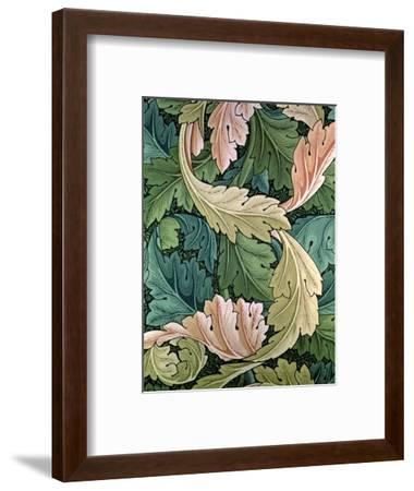 """Acanthus"" Wallpaper Design, 1875-William Morris-Framed Premium Giclee Print"