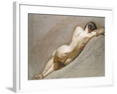Life Study of the Female Figure-William Edward Frost-Framed Giclee Print