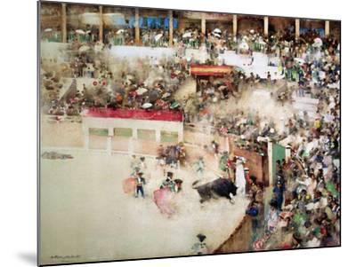 "The Little Bull Fight: ""Bravo Toro""-Arthur Melville-Mounted Giclee Print"
