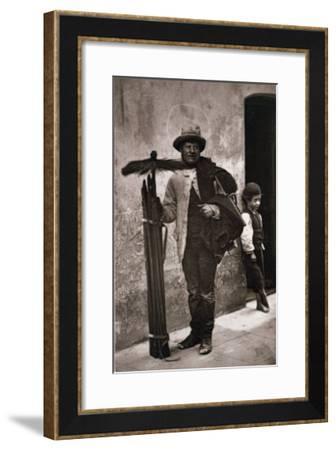 The Temperance Sweep, Woodbury Type Photograph-John Thomson-Framed Giclee Print