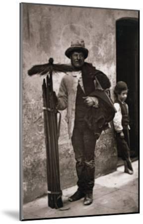 The Temperance Sweep, Woodbury Type Photograph-John Thomson-Mounted Giclee Print