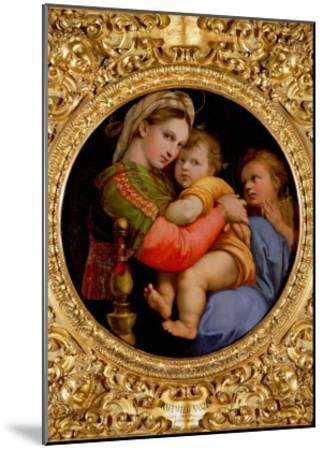 The Madonna of the Chair-Raphael-Mounted Giclee Print