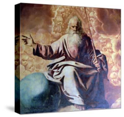 The Eternal Father, 1636-Francisco de Zurbar?n-Stretched Canvas Print