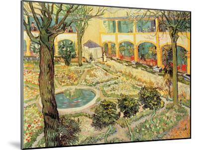 The Asylum Garden at Arles, c.1889-Vincent van Gogh-Mounted Giclee Print