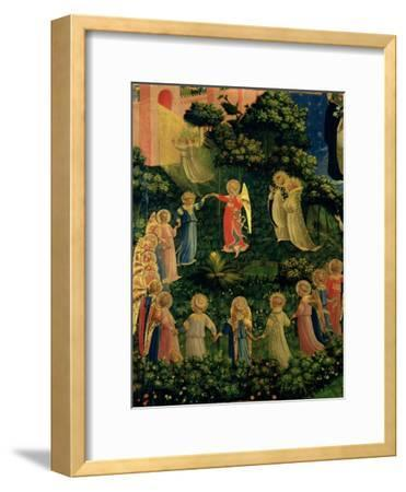 Detail of Heaven from the Last Judgement-Fra Angelico-Framed Giclee Print