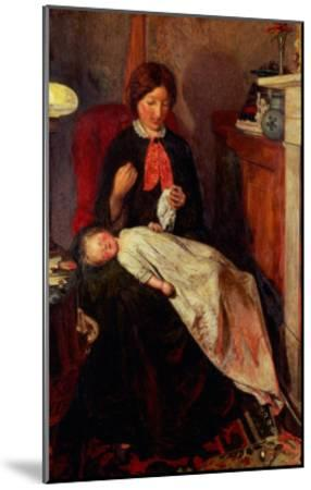 An English Fireside of 1854-5-Ford Madox Brown-Mounted Giclee Print