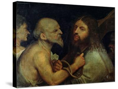 Christ Carrying the Cross-Giorgione-Stretched Canvas Print