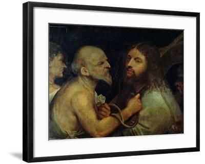 Christ Carrying the Cross-Giorgione-Framed Giclee Print