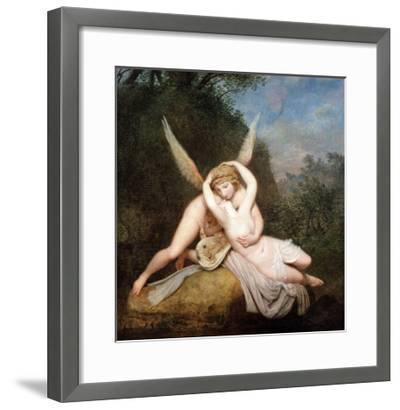 Cupid and Psyche-Antonio Canova-Framed Giclee Print