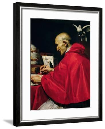 Pope Gregory the Great-Carlo Saraceni-Framed Giclee Print