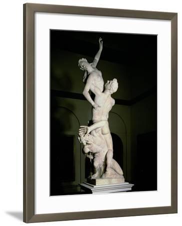 The Rape of the Sabine, circa 1583-Giambologna-Framed Giclee Print